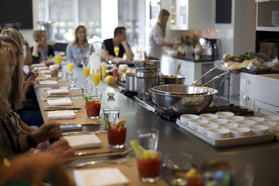 Brunch drinks aplenty at COOK this past weekend.